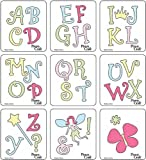 Cuttlekids Fairy Alphabet Dies