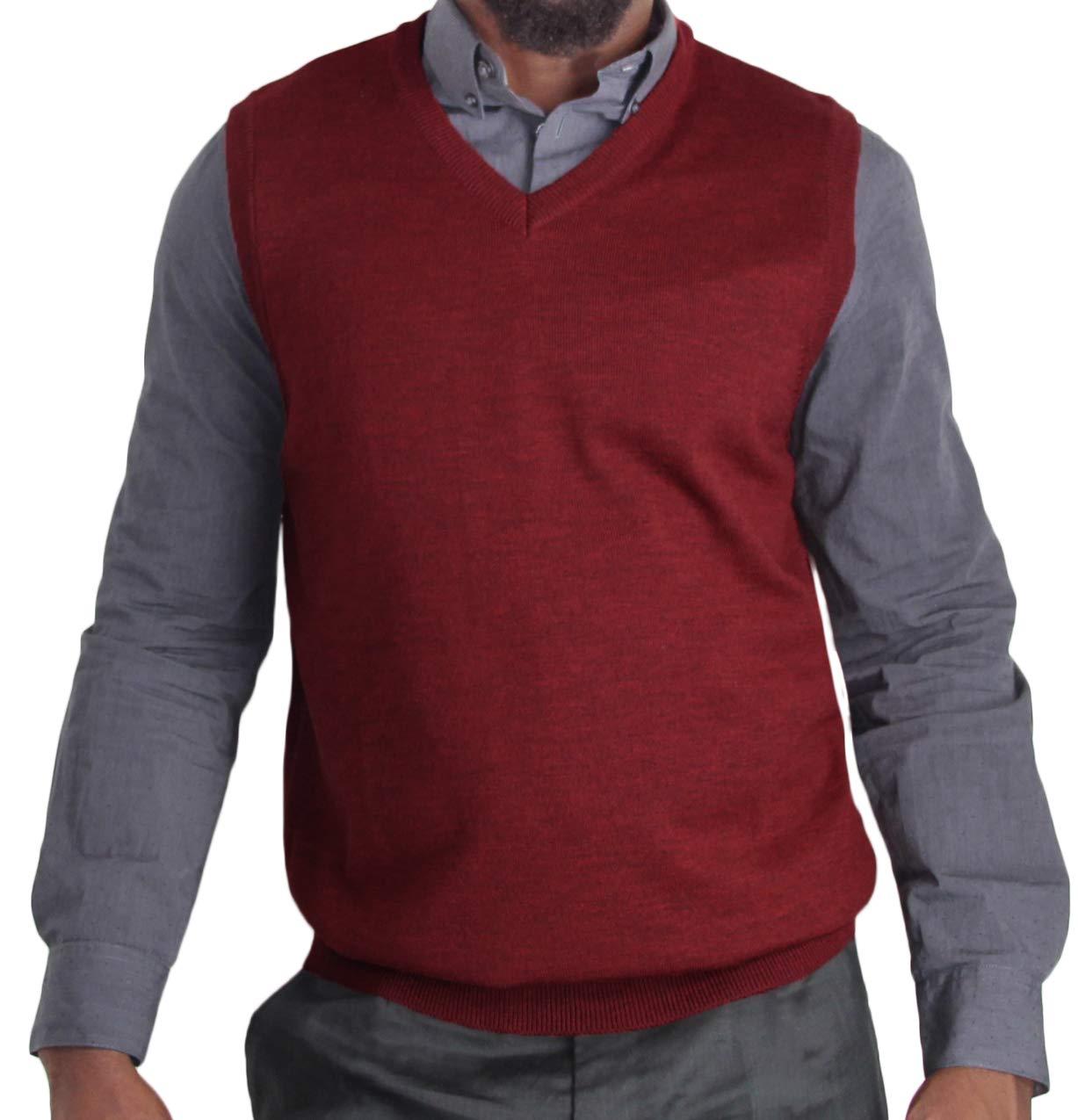 Blue Ocean Heather Sweater Vest-Medium by Blue Ocean