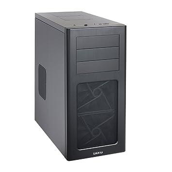 Lian Li PC-7HX - Caja de ordenador de sobremesa (3.5 mm, 2 x USB 3.0), negro: Amazon.es: Informática