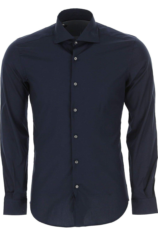 fay Luxury Fashion Mens NCMA137259S0RMU807 Blue Shirt Season Outlet