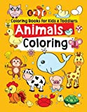 #6: Coloring Books for Kids & Toddlers: Animals Coloring: Children Activity Books for Kids Ages 2-4, 4-8 (Volume 1)