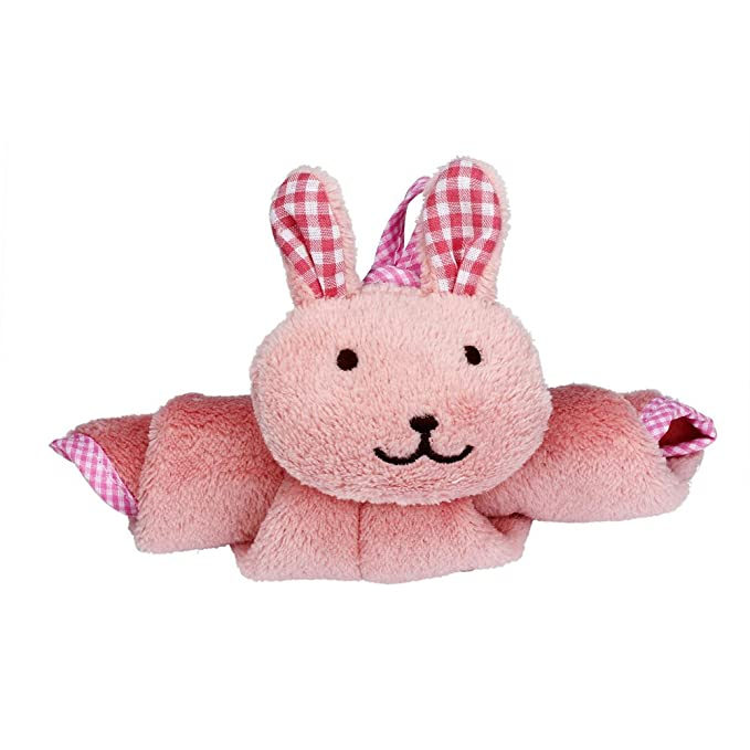 Amazon.com : Pink 3Pcs Hand Towel Toalla de mano Kitchen Cartoon Animal hand towels Hanging Cloth Soft Plush Dishcloths : Everything Else