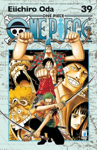 One piece. New edition: 39 Copertina flessibile – 14 apr 2011 Eiichiro Oda E. Martini Star Comics 8864202250