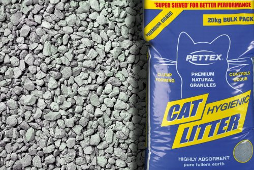 PETTEX Premium gris Aserrín para gatos de aromas 5kg (4unidades)