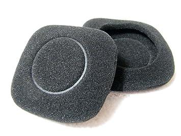 1 par de almohadillas de repuesto para auriculares Logitech H150, color negro: Amazon.es: Electrónica