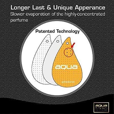 Aqua Flavour Scent Car Air Freshener, Bubble Gum (Pack of 3): Automotive