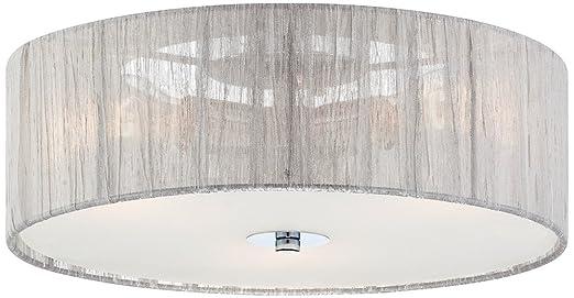 possini euro design lighting. possini euro design sheer silver 16u0026quot ceiling light lighting