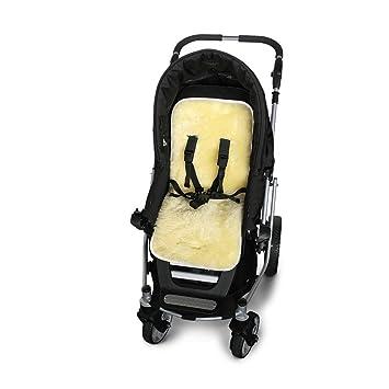 Babydecke Auflage Einlage Baby-Lammfell Schafsfell für Kinderwagen u Buggy