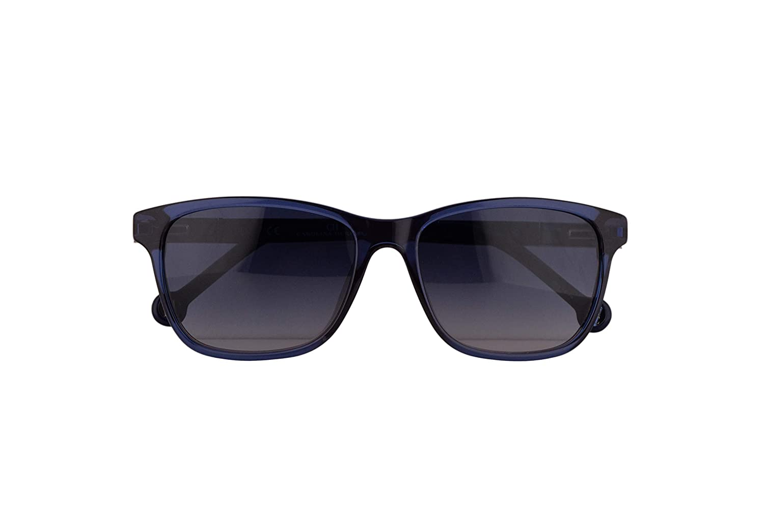 Amazon.com: Carolina Herrera SHE643 Sunglasses Blue ...