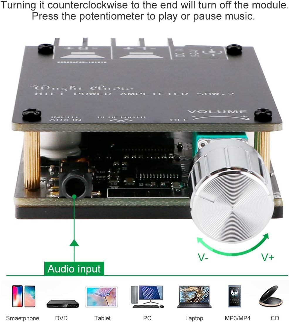 Bluetooth Amplifier Board Hifi Stereo 2 0 Tpa3116d2 Elektronik