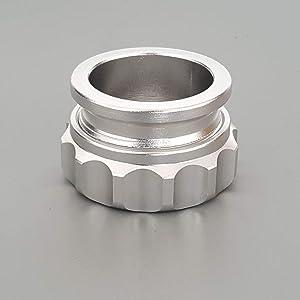 "1""/1.5""/2""/2.5""Aluminium Alloy Weld On Filler Neck Oil Fuel Water Tank Reservoir Cap (1"")"