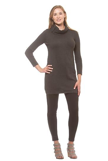 4b1eb868678 Rebels Women s Snap Cowl Neck Long Sleeve Sweater Dress at Amazon Women s  Clothing store
