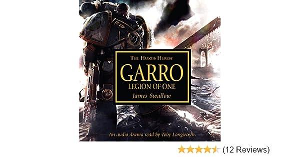 Galaxy in flames: garro: legion of one.