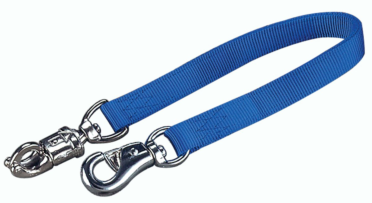 Hamilton Double Thick Trailer Tie with Panic Snap and Bull S