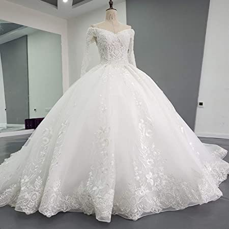 Zavddy Robes de Mariée Robes de Mariage Femmes