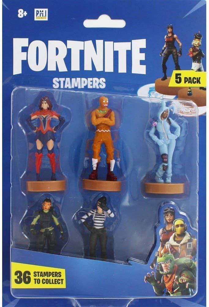 Fortnite figuras de acción   Juego de 5 figuras de Fortnite juguete coleccionables   Juguetes para adultos y niños   Accesorios Fortnite y regalos para jugadores, paquete de 5 (selección aleatoria)