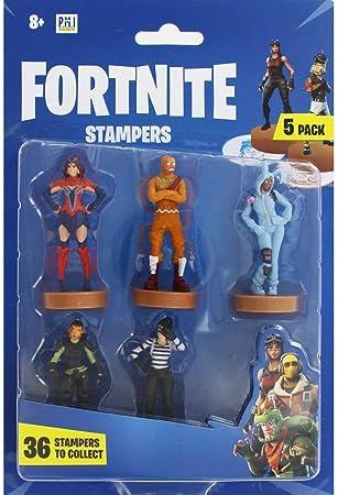 Fortnite Figuras de acción | Juego de 5 Figuras Juguete coleccionables | Juguetes para Adultos y niños | Accesorios Regalos para Jugadores, Paquete de 5 (selección aleatoria)