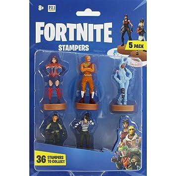 Fortnite Figuras Set de 5 Mini Figuras Para Coleccionar, Accesorios Oficiales Fortnite Para Fans de Los Videojuegos, Regalos Para Niños Adolescentes ...