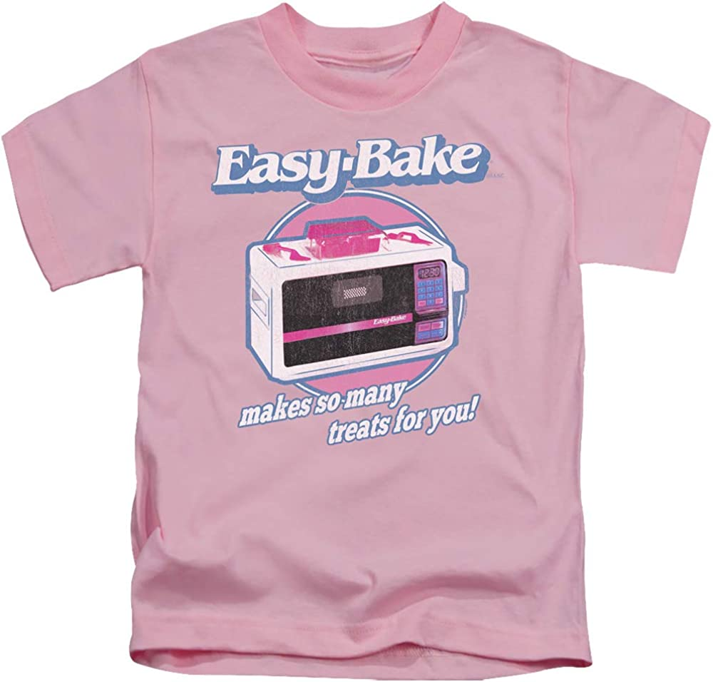 Easy Bake Oven Treats Unisex Youth Juvenile T-Shirt for Girls and Boys