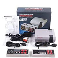 Classic Retro Game Console, AV Output Console Built-in 620 Classic Video Games for Kids Gift Birthday Gift