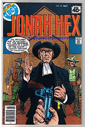 JONAH HEX #24, NM-, Minister, Preacher, Gun, Scar, 1977, more JH in store ()