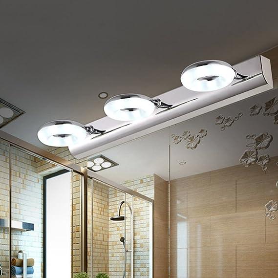 Bad Spiegel Lampe, (46CM-9W) LED Drei-Kopf Spiegel Scheinwerfer ...
