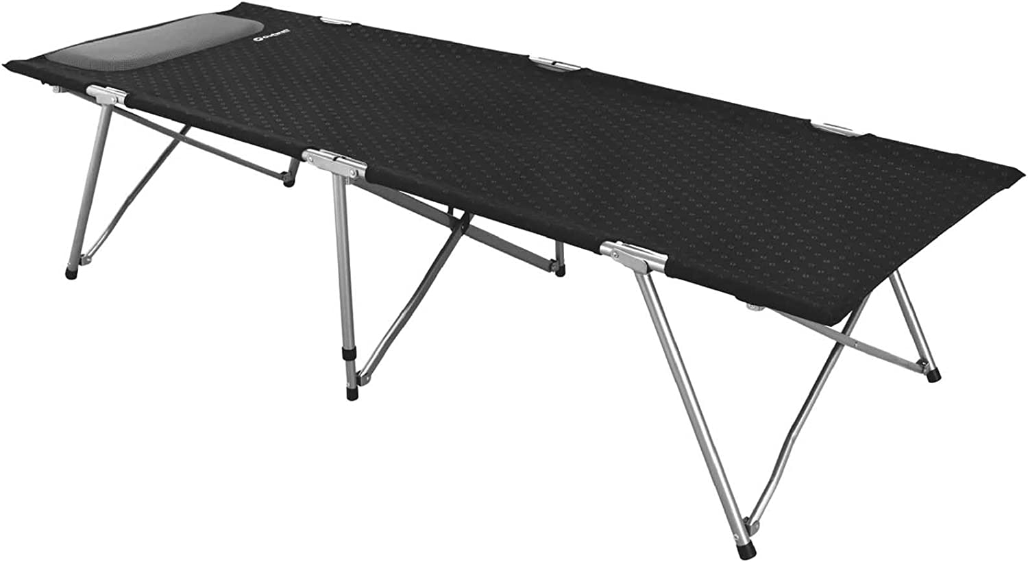 Black Outwell Double Posadas Camping Bed