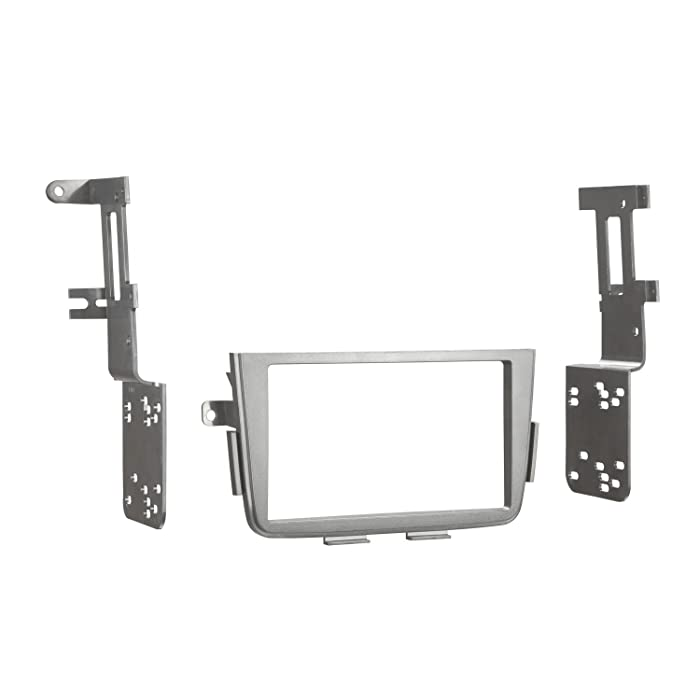 Metra 95-7866B Double DIN Installation Dash Kit for 2001-2006 Acura MDX (Black)