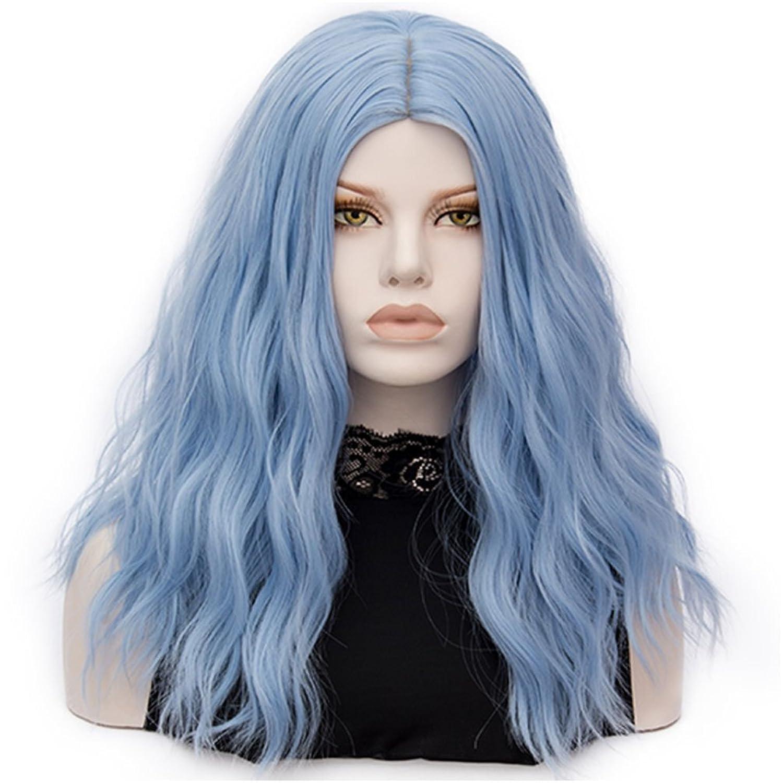 Flovex Wig Medium Curly Wavy Cosplay Wigs Women La s Natural y