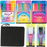 Sakura Gelly Roll Gel Ink Pen Set Kit with US Art Supply Canvas Zippered Case