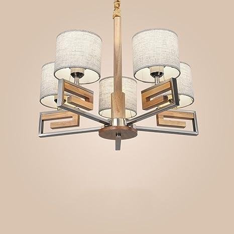 FUFU Luci Pendenti Lampadari, moderni lampadari in legno per ...