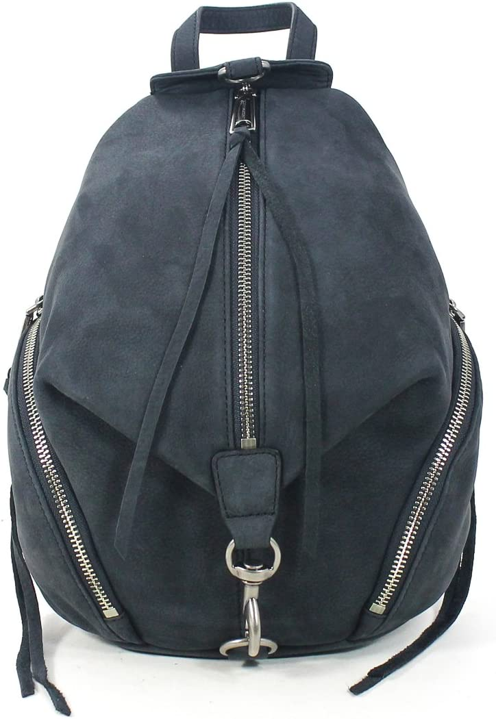 Black Rebecca Minkoff Womens Medium Julian Backpack One Size