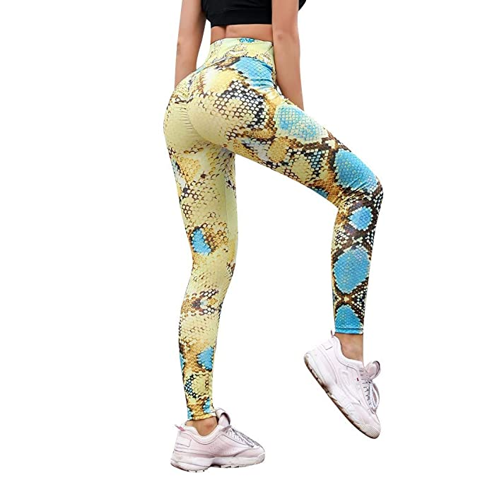 Xinantime - Pantalones Yoga Mujeres, Leggings de Cintura ...