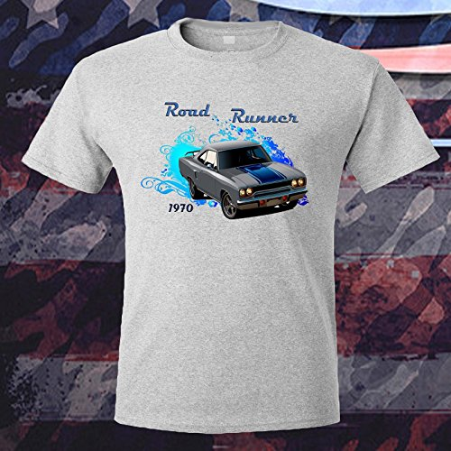 Classic Car Road Runner 1970 Unique Design T-shirt Mens Kid's (Plymouth Runner)