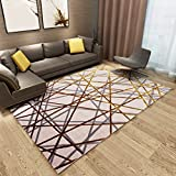Rug Carpet living room bedroom study restaurant coffee table sofa room nightstand home rug rectangle Computer Chair Mat (Color : A, Size : 82122cm)