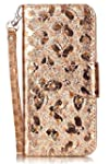Galaxy S8 Plus Case Welity Butterfly Folio PU Leather Wallet Case with Wristlet for Sumsung Galaxy S8 Plus Gold