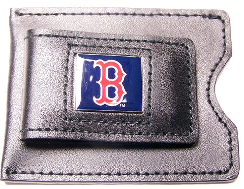 Boston Red Sox Credit Card (MLB Boston Red Sox Leather Money Clip and Card Case)