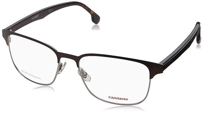f7edaee93529 Carrera Metal Browline Eyeglasses 54 04IN Matte Brown  Amazon.in ...