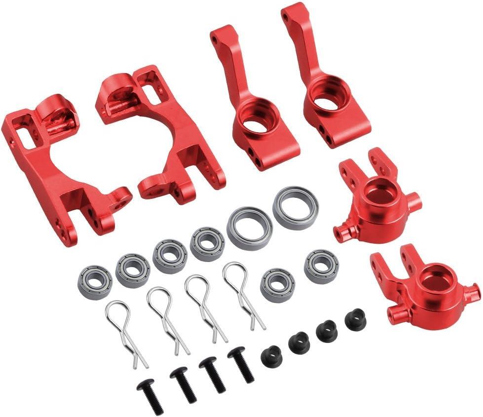 For TRAXXAS SLASH 4x4 1//10 RC Car Full  Set Aluminum Metal Upgrade Parts Kits