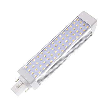 Bombilla LED G24 12W Blanco Cálido 2800K-3200K efectoLED