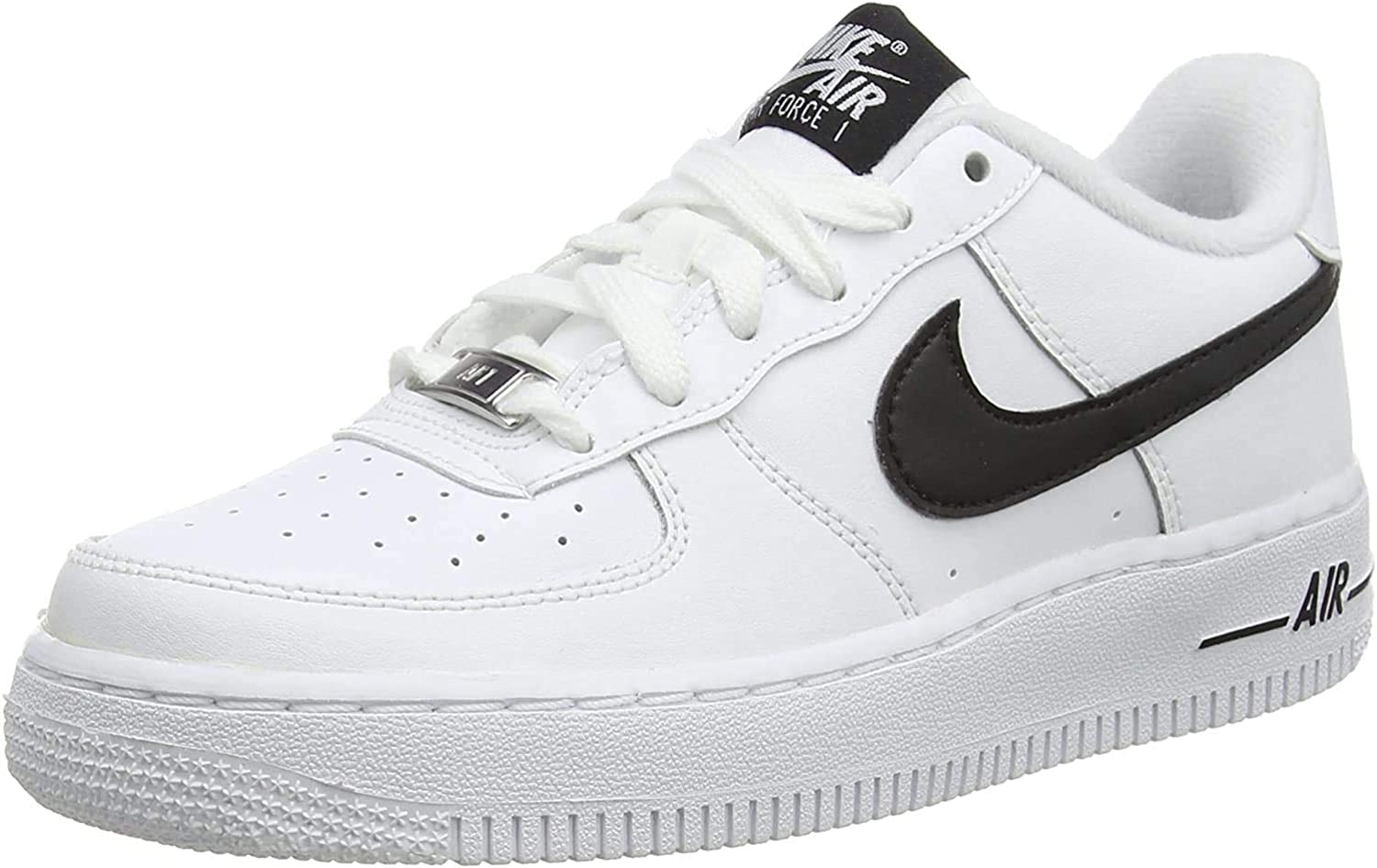 Zapatilla de Baloncesto para Ni/ños White//Black Nike Air Force 1 An20 39 EU GS