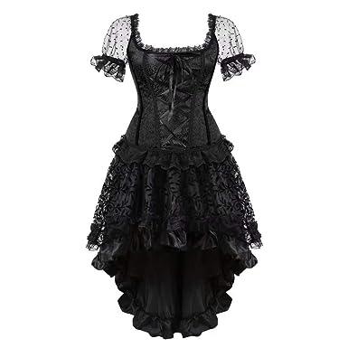 Vestidos De Noche para Elegante con Vestido Vintage Mujer Forma ...