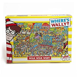 Paul-Lamond-Wheres-Wally-Puzzle-Wild-West-1000-Pieces