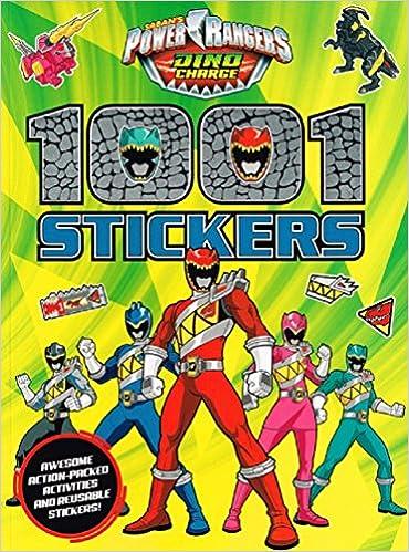 Power Rangers 1001 Stickers: Amazon.es: Power Rangers ...