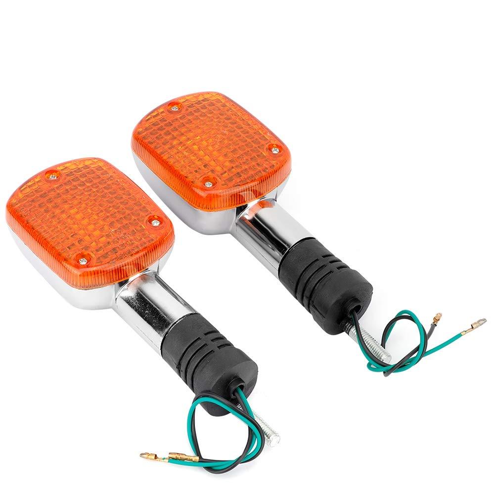Clignotants Feux LED 2pc Avertisseurs pour SHADOW VT VLX 400 600 750 1100 REBEL CMX250 MAGNA 8mm