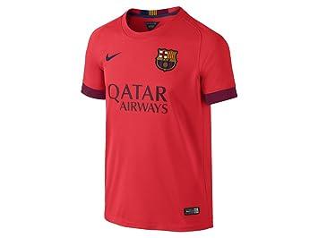 Nike Camiseta FC Barcelona Azulgrana, Naranja o Amarilla