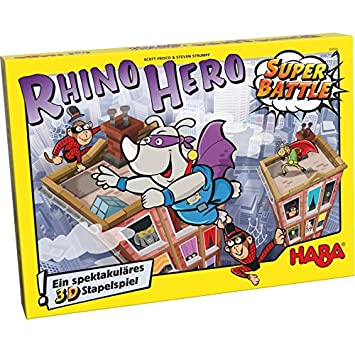 Haba 302808 Juego De Construccion Rhino Hero Super Battle Scott