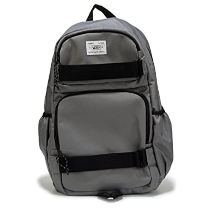 63fcb72d85 Amazon.com  Vans Off The Wall Skate Pack Carry All Backpack-Pewter ...