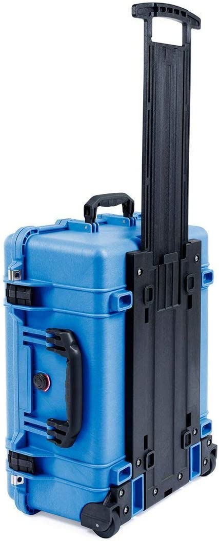 Blue /& Black Pelican 1560 case no Foam//Empty.