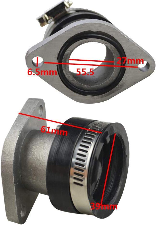 QUALITY Armor Tech Intake Manifold for 2005-2009 Yamaha YFM 250 Bruin /& Big Bear replaces OE 4XE-13586-00-00